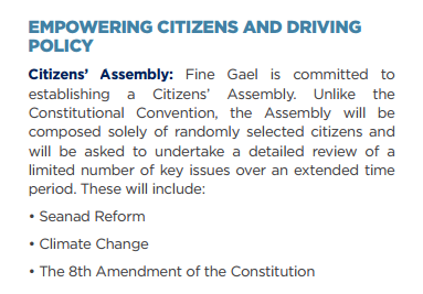 Fine Gael Assembly