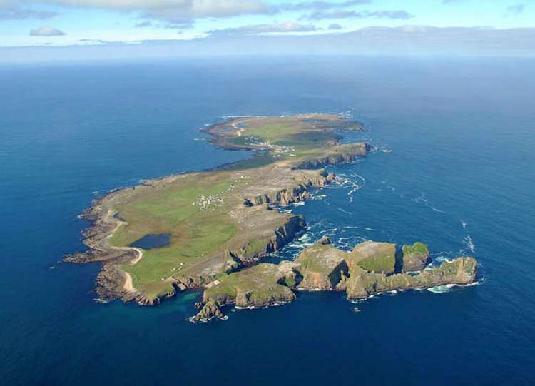 Tory Island (Photo: Irish Air Corps)