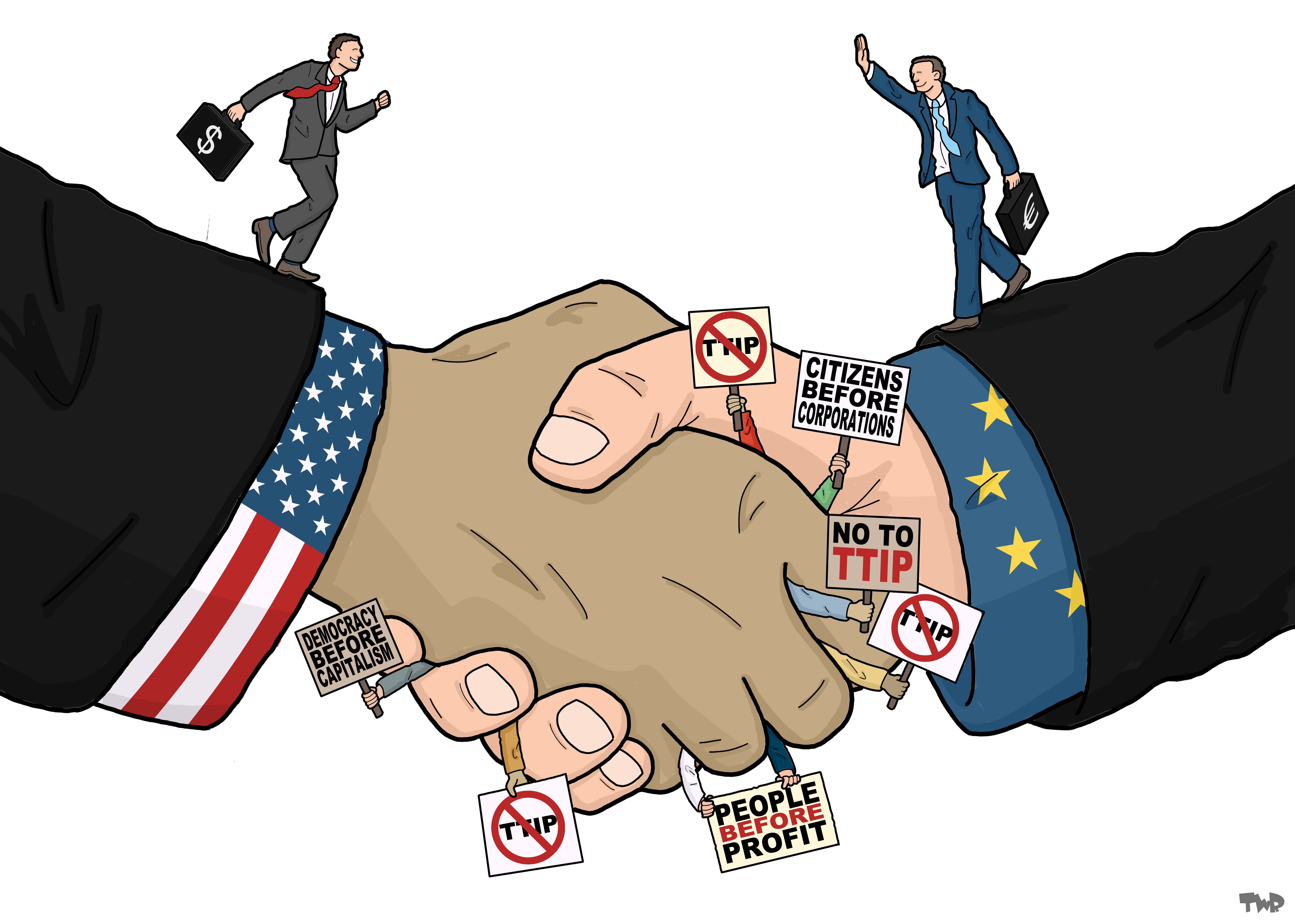 How will the UK be affected by the TTIP agreement after ...