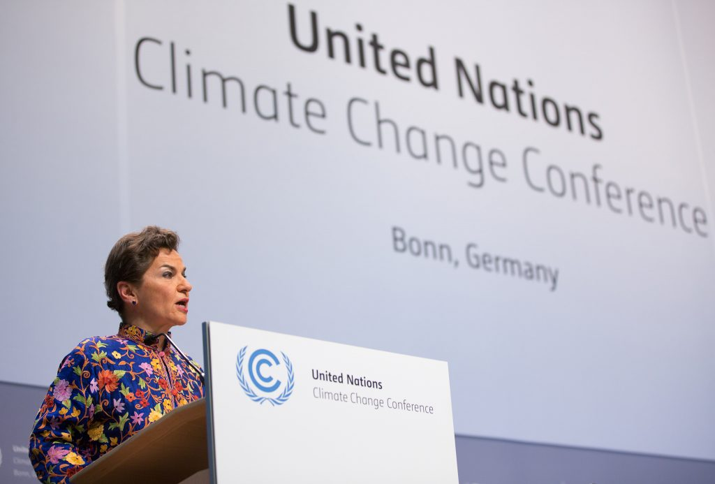 UNFCCC Executive Secretary Christiana Figueres Photo: UN Climate Change BOonn