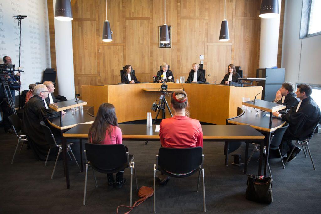 Dutch Climate case hearing, 2015 Photo: Urgenda / Chantal Bekker
