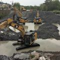 Dredging works in the Bandon River Photo: Ecofact