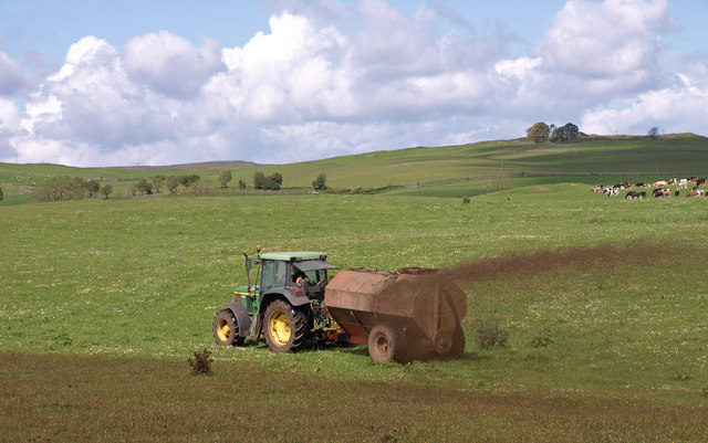 Slurry Spreading Photo: WF Miller