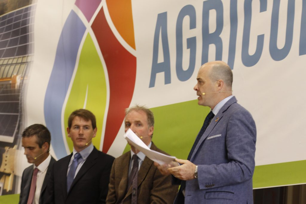 Denis Naughten at Energy in Agriculture 2018 Photo: Niall Sargent