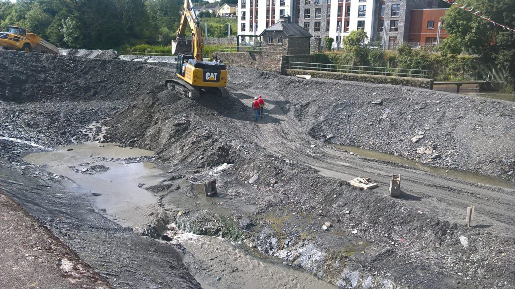 River Bandon works Photo: Ecofact