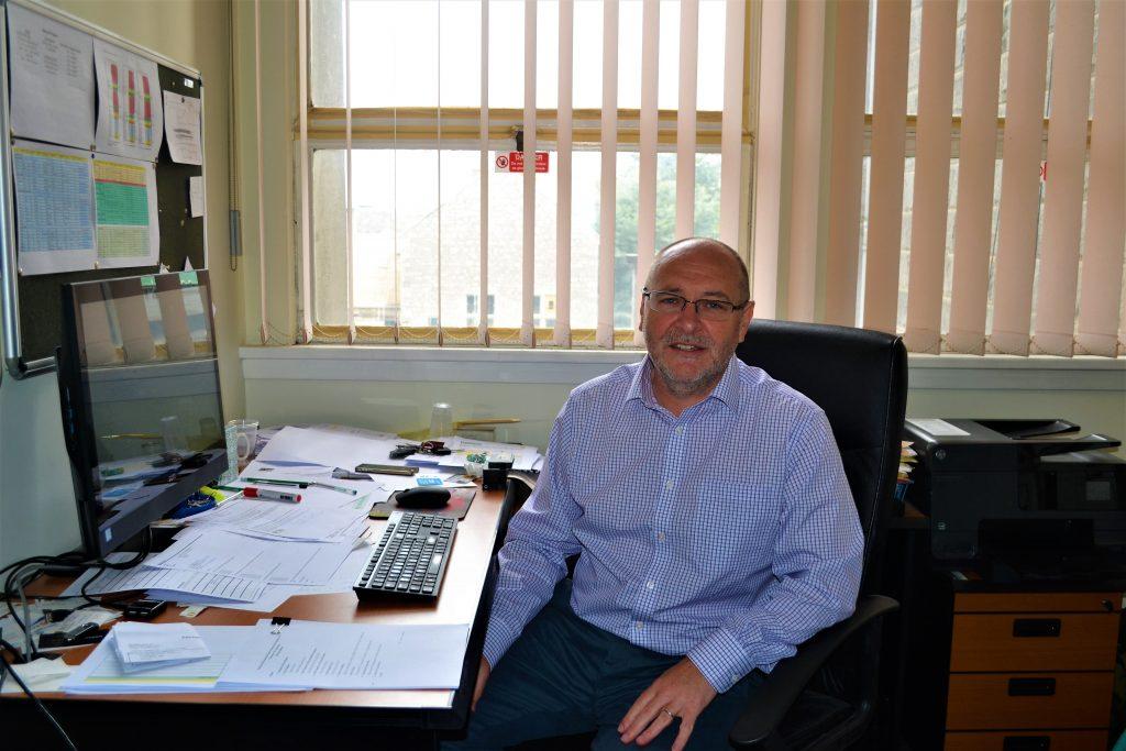 Prof John Wenger Photo: Shamim Malekmian