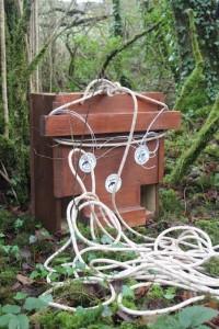 Pine Marten artificial den