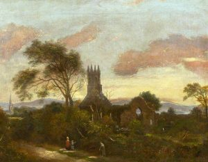 Frazer, Hugh; The Priory Church, Holywood, County Down; Belfast Harbour Commissioners; http://www.artuk.org/artworks/the-priory-church-holywood-county-down-168467