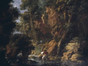 Poachers: View in the Dargle circa 1760 John Butts circa 1728-1764 Purchased 1973 http://www.tate.org.uk/art/work/T01815