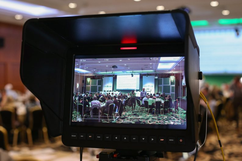 Media at Citizens Assembly on Saturday November 4th at the Grand Hotel, Malahide, Dublin.Photo: MAXWELL