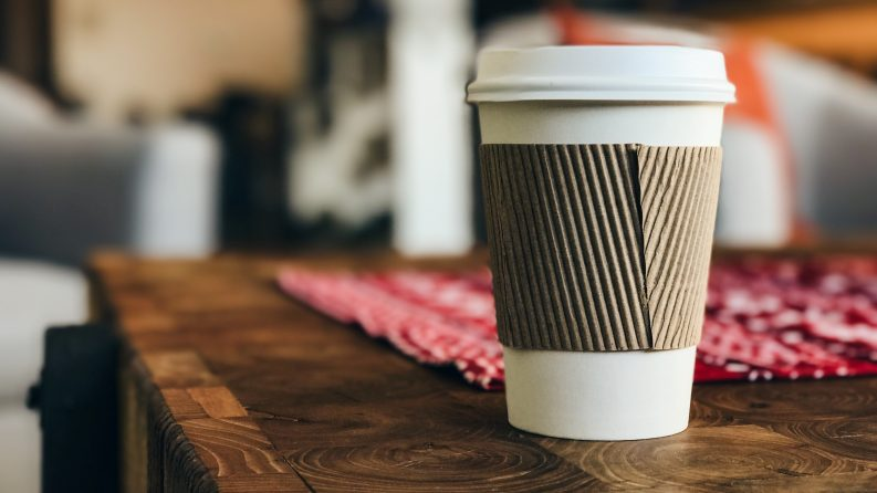 Disposible coffee cup