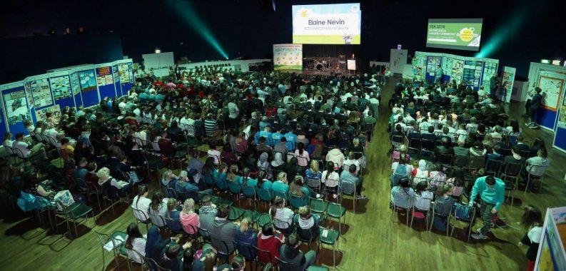 ECO-UNESCO Young Environmentalist Awards at Mansion House, Dublin. Photo: Conor Ó Mearain