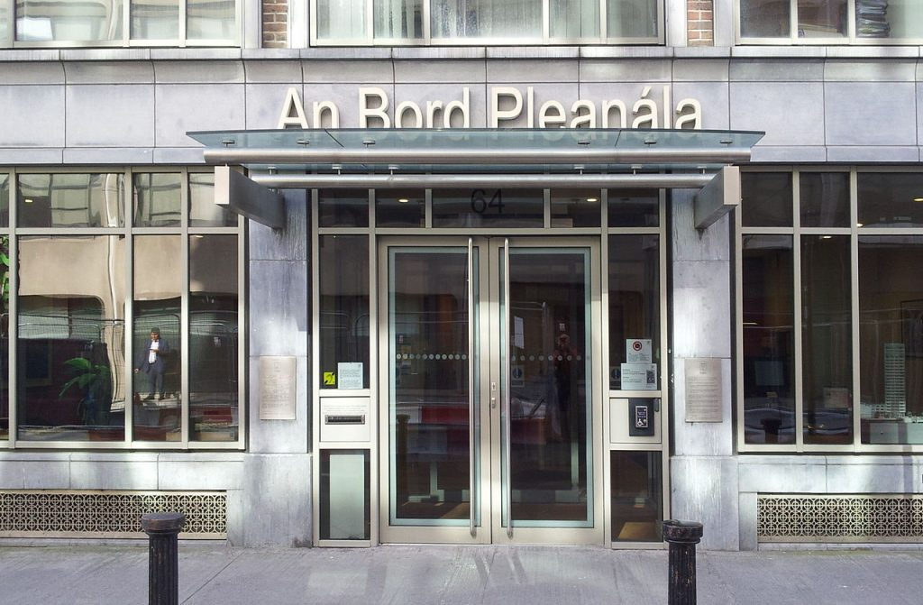 Office of An Bord Pleanála Photo: Rwxrwxrwx