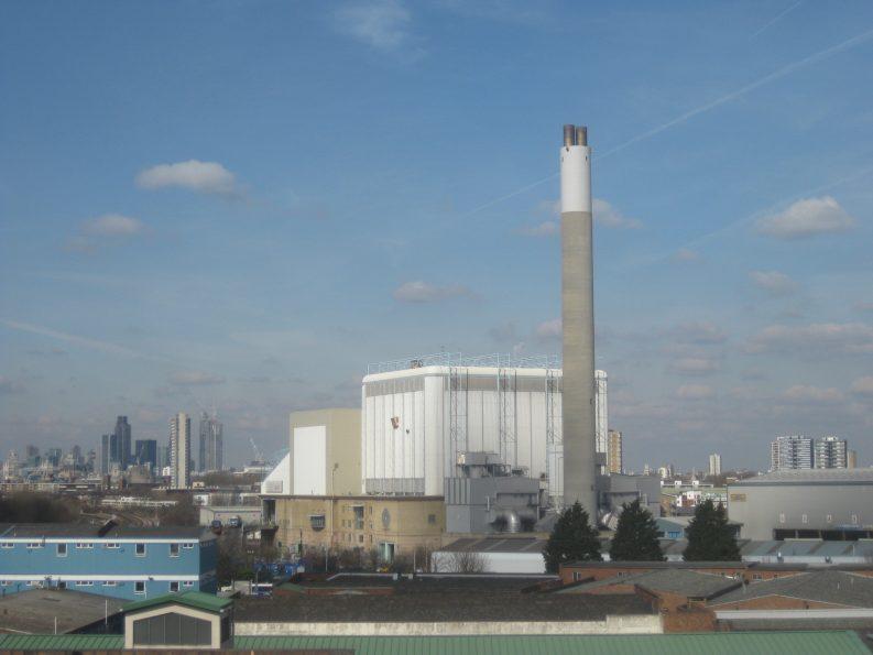 SELCHP incinerator in Deptford Photo: Matt Brown