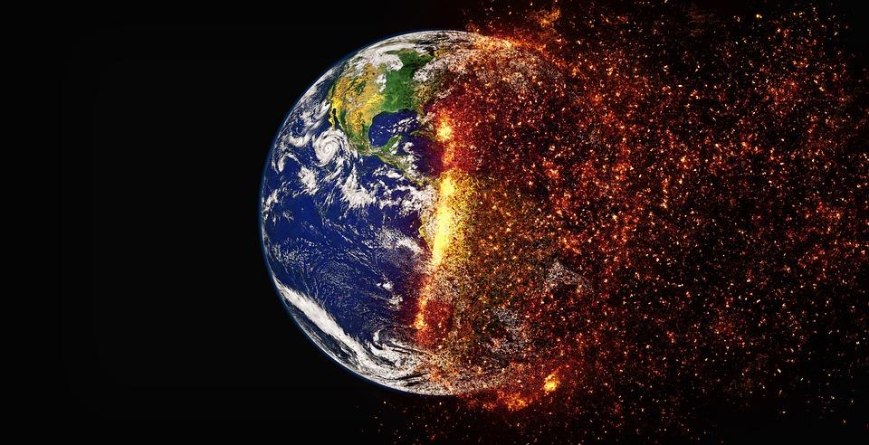 Global warming. Photo: Pixabay