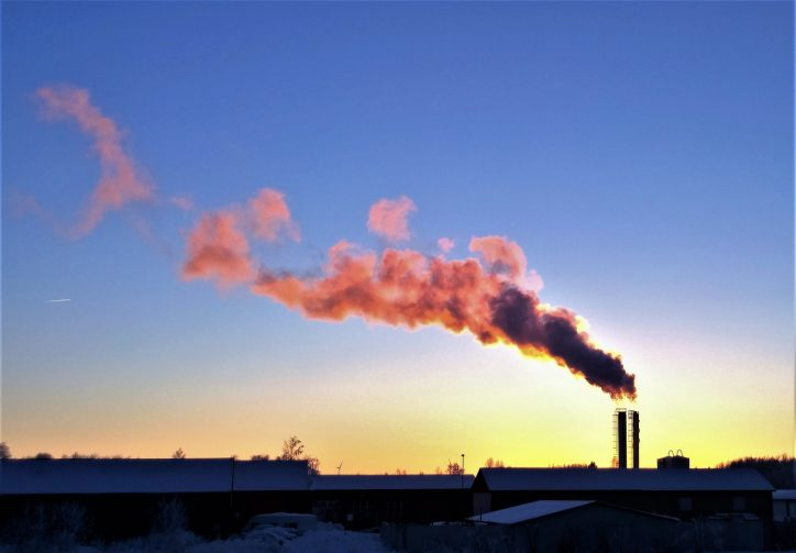 Smoke from chimney Photo: lenalindell20