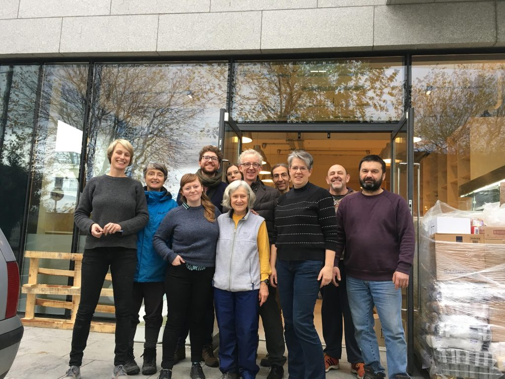 Dublin Food Co-op Team preparing to open new shop Photo: DFC