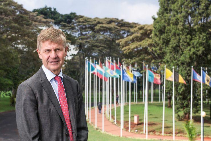 Former UN Environment Executive Director Erik Solheim Photo: UNEP