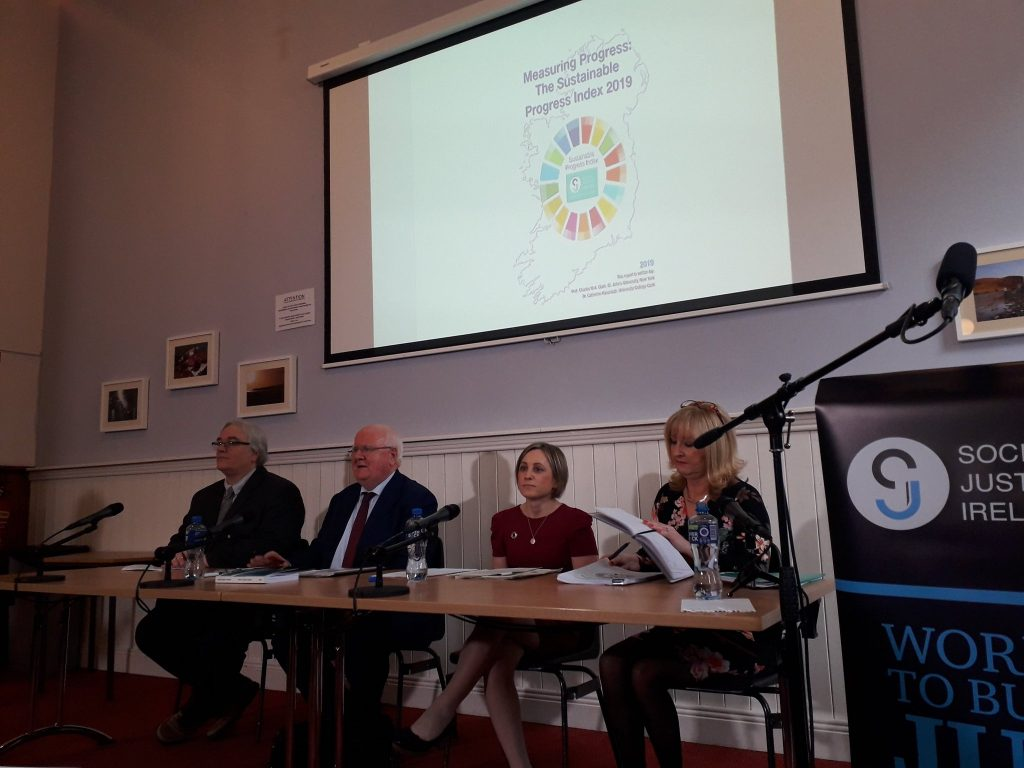 SDG index launch Photo: Social Justice Ireland