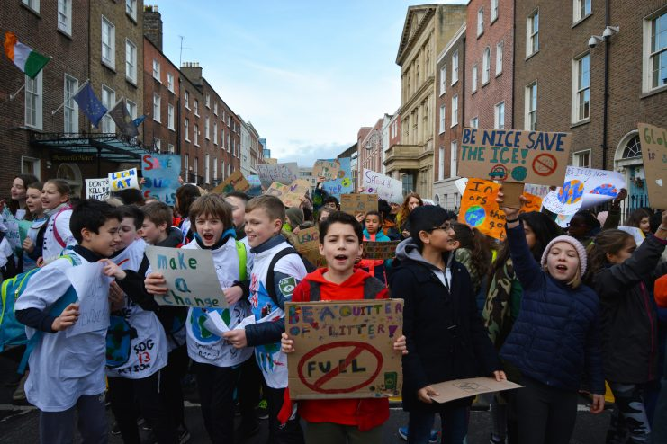 Student climate protest February 2019 Photo; Kayle Crosson