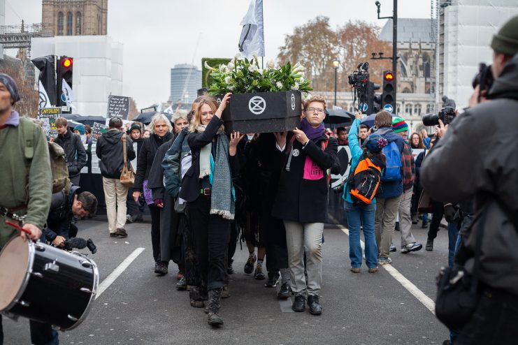 Extinction Rebellion Day in the UK Photo: Francesca E Harris