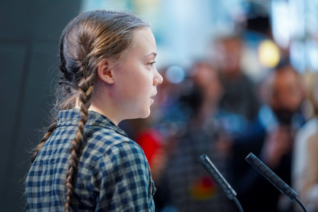 Greta THUNBERG, Swedish climate activist Photo: European Union / DAINA LE LARDIC