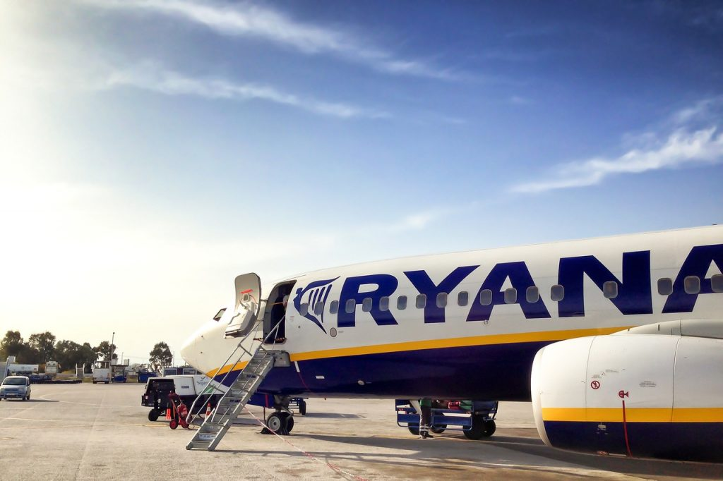 Ryanair plane Photo: Pxhere