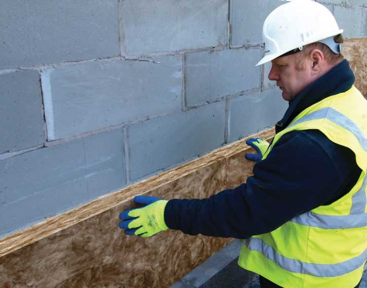 DriTherm Install Photo: Knauf Insulation