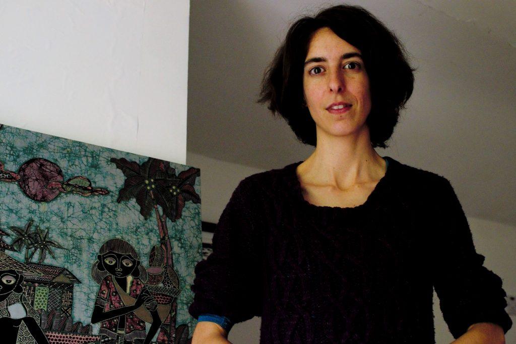 Marta Costa Neto at her home picture Shamim Malekmian