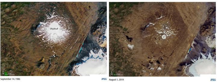 Satellite photos: NASA