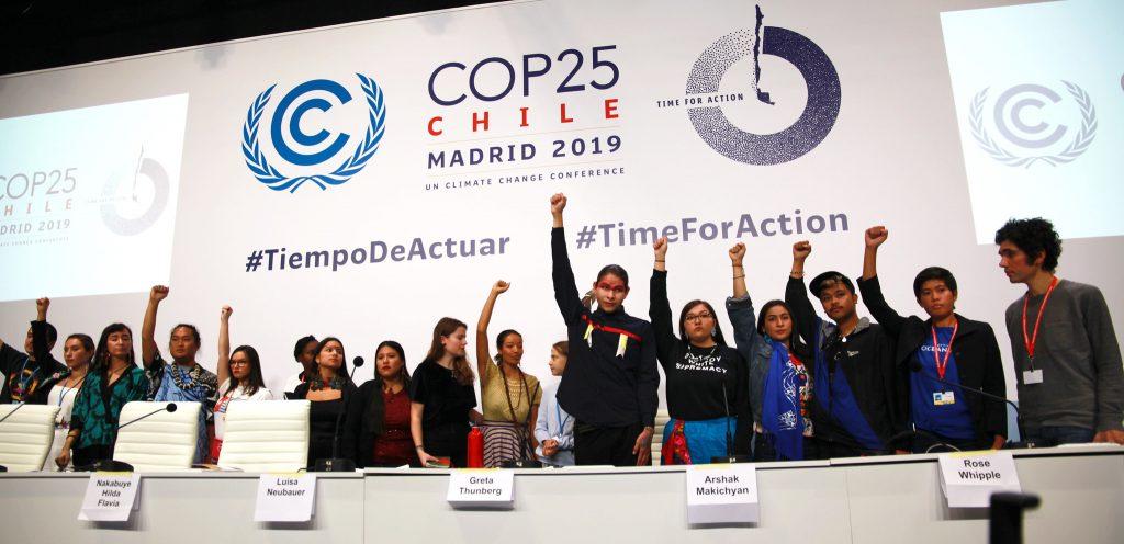Greta Press Conference COP25 Photo: UNclimatechange