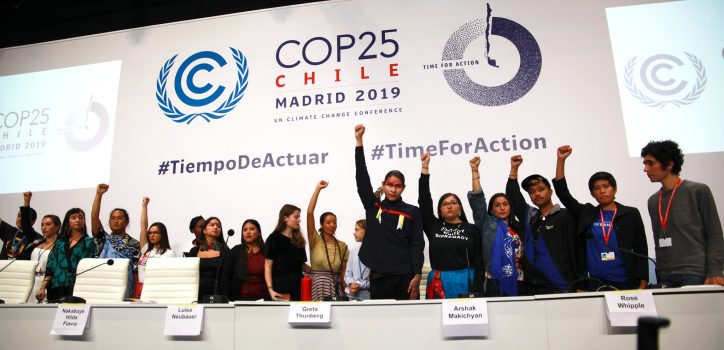 Greta Press Conference COP25 Photo: UNclimatechange