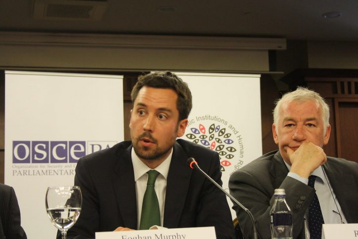 Minister for Housing, Eoghan Murphy Photo: OSCE Parliamentary Assembly