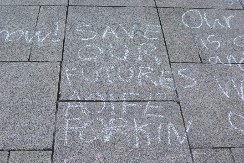 Greta calls for more climate pressure on decision-makers